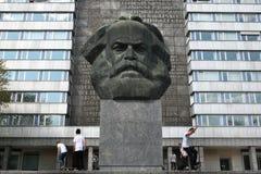 Karl Marx Monument in Chemnitz, Saxony, Germany. Royalty Free Stock Photos