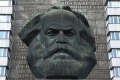 Karl Marx Monument in Chemnitz, Saxony, Germany. Royalty Free Stock Photography