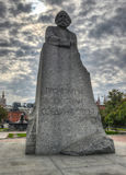 Karl Marx Monument, Moscow Royalty Free Stock Photo