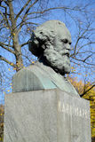 Karl Marx's bust in Kaliningrad, Russia Royalty Free Stock Photo