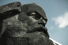 Karl- Marxdenkmal stockfotografie