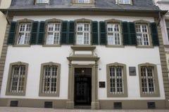 Karl- Marxhaus im Trier Stockbild