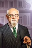Karl Renner Figurine At Madame Tussauds Wax Museum Royalty Free Stock Photography