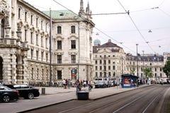 Karl Square Munich photographie stock