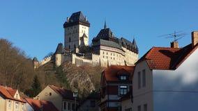 KARL STEIN CASTLE. Wonderful castle in praga Royalty Free Stock Images