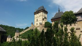 Karlštejn - the Castle Stock Photography