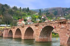 The Karl Theodor Bridge Stock Image