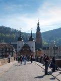 Karl Theodor Bridge Immagine Stock Libera da Diritti