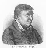 Karl Wilhelm Friedrich Schlegel Fotografía de archivo
