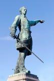 Karl XII statua obraz royalty free