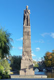 Karl XIV Johan monument in Orebro Stock Photography