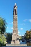 Karl XIV Johan monument in Orebro Stock Photography