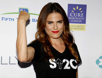 Karla Souza. At the 5th Biennial Stand Up To Cancer held at the Walt Disney Concert Hall in Los Angeles, USA on September 9, 2016 royalty free stock images