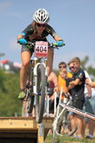 Karla Stepanova - MTB cross country Royalty Free Stock Photo