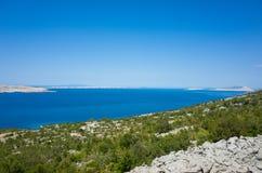 Karlobag Croazia Immagini Stock