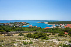Karlobag Croazia Fotografie Stock