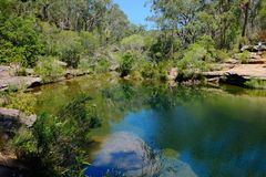 Free Karloo Pool Is A Popular Swimming And Picnic Spot Situated In Royal National Park At The South Of Sydney, Australia Stock Photos - 165686793