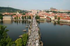 Karlov Brücke stockfoto