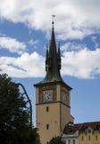 Karlov Bridżowy i Stary Praga widok Zdjęcia Royalty Free