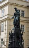 Karlov Bridżowy i Stary Praga widok Fotografia Stock