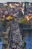 Karlov  bridge. Royalty Free Stock Photo