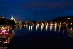 Karlov Bridge, Prague. Stock Photography