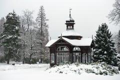 Mountain Spa Karlova Studanka, Czech republic stock images