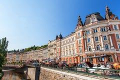 Karlovy Vary (Carlsbad), Czech Republic. Royalty Free Stock Images