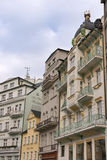Karlovy变化小的旅馆 免版税库存照片