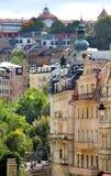 Karlovy变化,捷克 库存图片