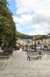 Karlovy变化,捷克 免版税库存图片