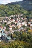 Karlovy变化,捷克 免版税库存照片