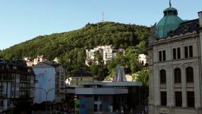 Karlovy меняет город в чехии видеоматериал