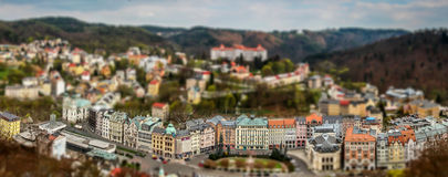 Karlovy меняет - республику czeck Стоковое Фото