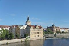 Karlovy Lazne (курорт) Карла, Прага Стоковые Изображения RF
