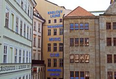 Karlovy Lazne Music Club, Prague. Stock Photography