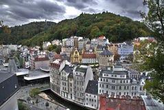 Karlovy unterscheiden sich Stockfotos