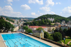 Karlovy unterscheiden sich Stockbild