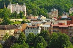 Karlovy unterscheiden sich Stockfoto