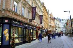 Karlovy unterscheiden sich stockfotografie