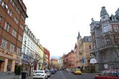 Karlovy unterscheiden sich Tschechische Republik Lizenzfreie Stockfotografie