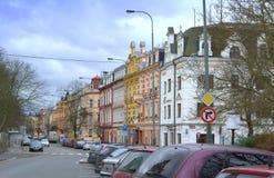 Karlovy unterscheiden sich Tschechische Republik Lizenzfreie Stockbilder