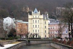 Karlovy unterscheiden sich, Tschechische Republik Lizenzfreies Stockbild