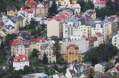 Karlovy varía Imagen de archivo libre de regalías