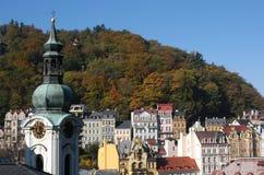 Karlovy varía fotografía de archivo libre de regalías
