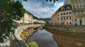 Karlovy varía foto de archivo libre de regalías