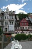 Karlovy varía, Carlsbad fotografía de archivo