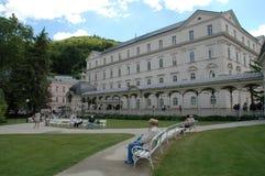Karlovy varía, Carlsbad fotos de archivo