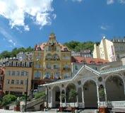 Karlovy varía, Carlsbad foto de archivo