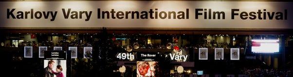 Karlovy varía festival de cine internacional Fotos de archivo libres de regalías